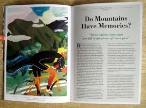 Do Mountains Have Memories?